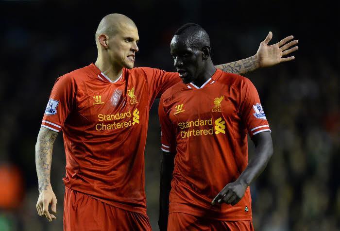 Mamadou Sakho et Martin Skrtel, Liverpool