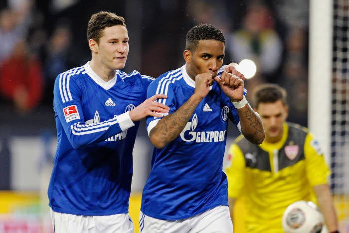 Julian Draxler & Jefferson Farfan