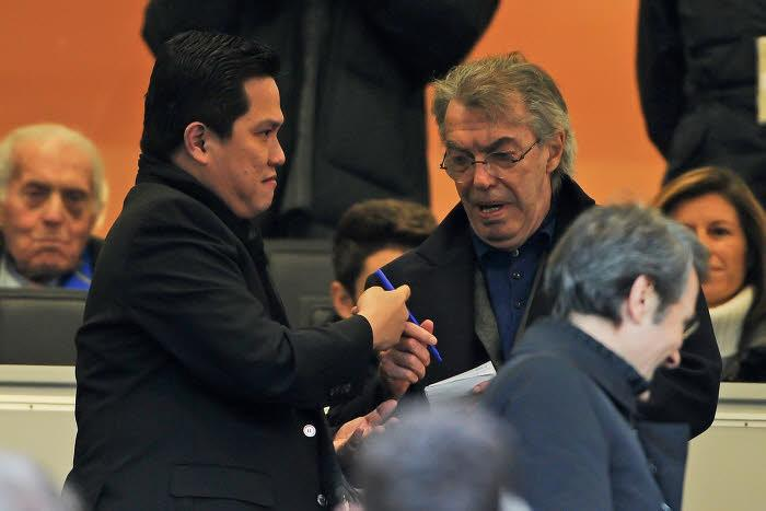 Erick Thohir et Massimo Moratti, Inter Milan