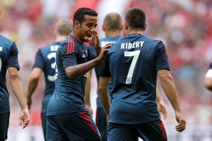 Thiago Alcantara & Franck Ribéry