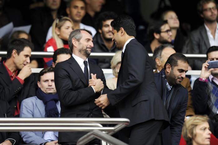 Jean-Claude Blanc, Nasser Al-Khelaïfi, PSG