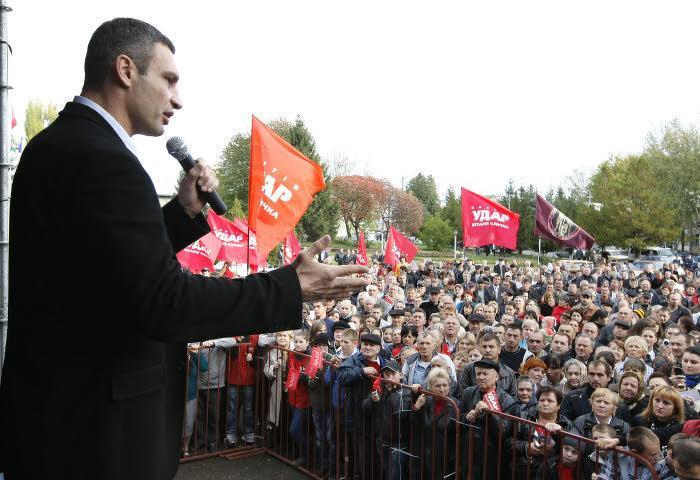 Vitali Klitschko, en 2012