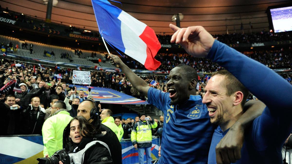 Mamadou Sakho & Franck Ribéry, équipe de France