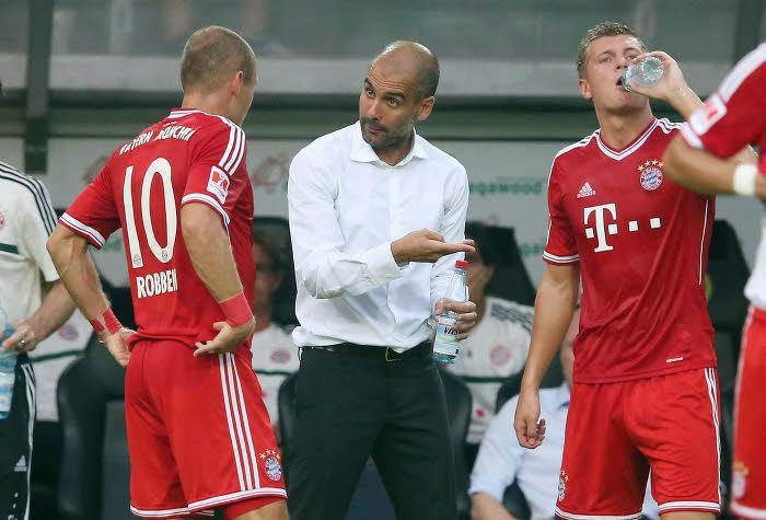 Arjen Robben, Pep Guardiola, Bayern Munich