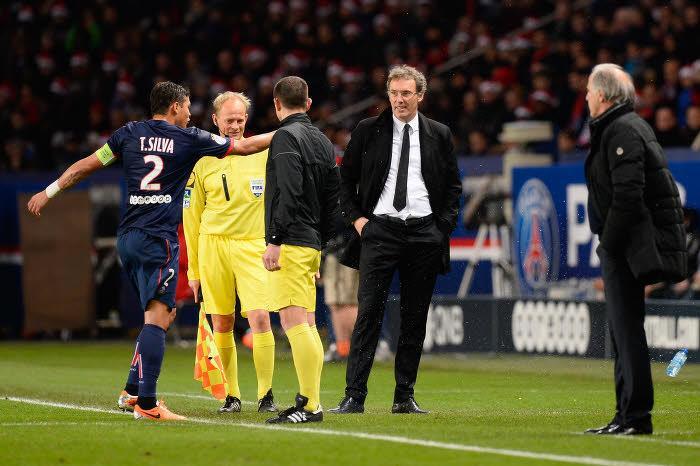 PSG : Laurent Blanc ne digère pas la blessure de Thiago Silva !