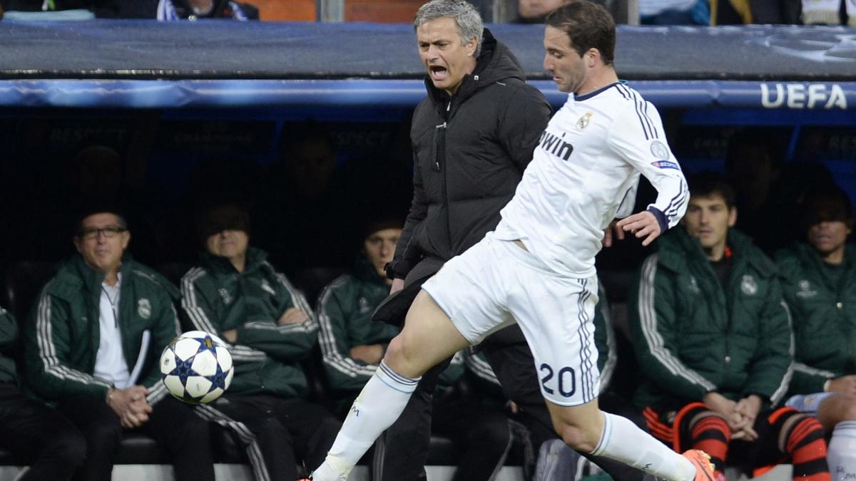 Mourinho - Higuain