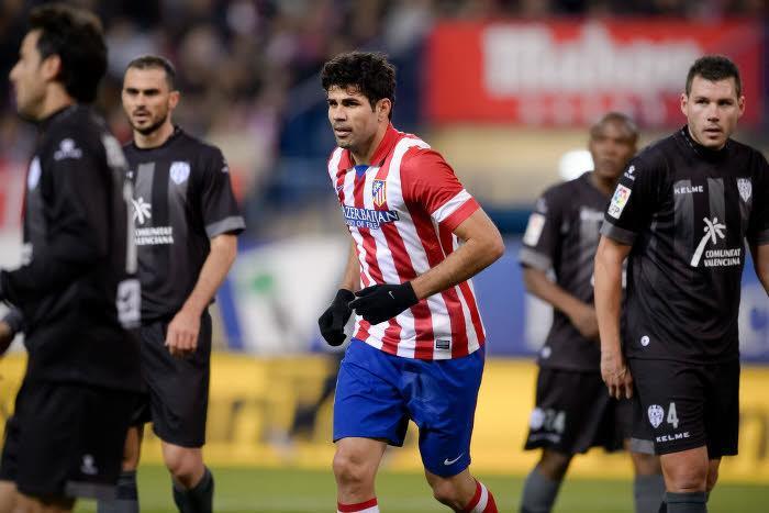 Arsenal/Chelsea/AS Monaco : De la concurrence en plus pour Diego Costa ?