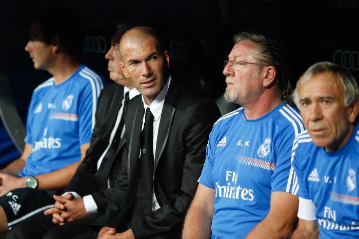 Zinédine Zidane et Giovanni Mauri, Real Madrid