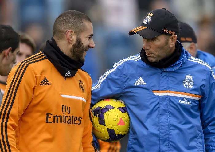 Karim Benzema, Zinedine Zidane