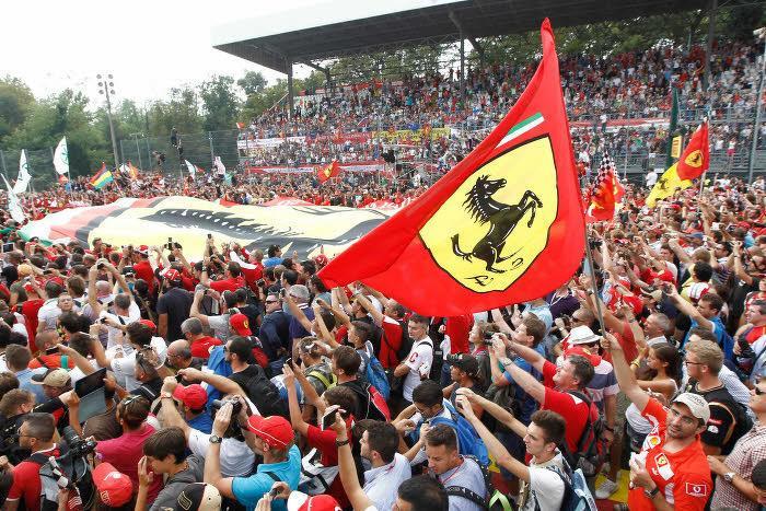 Supporters Ferrari
