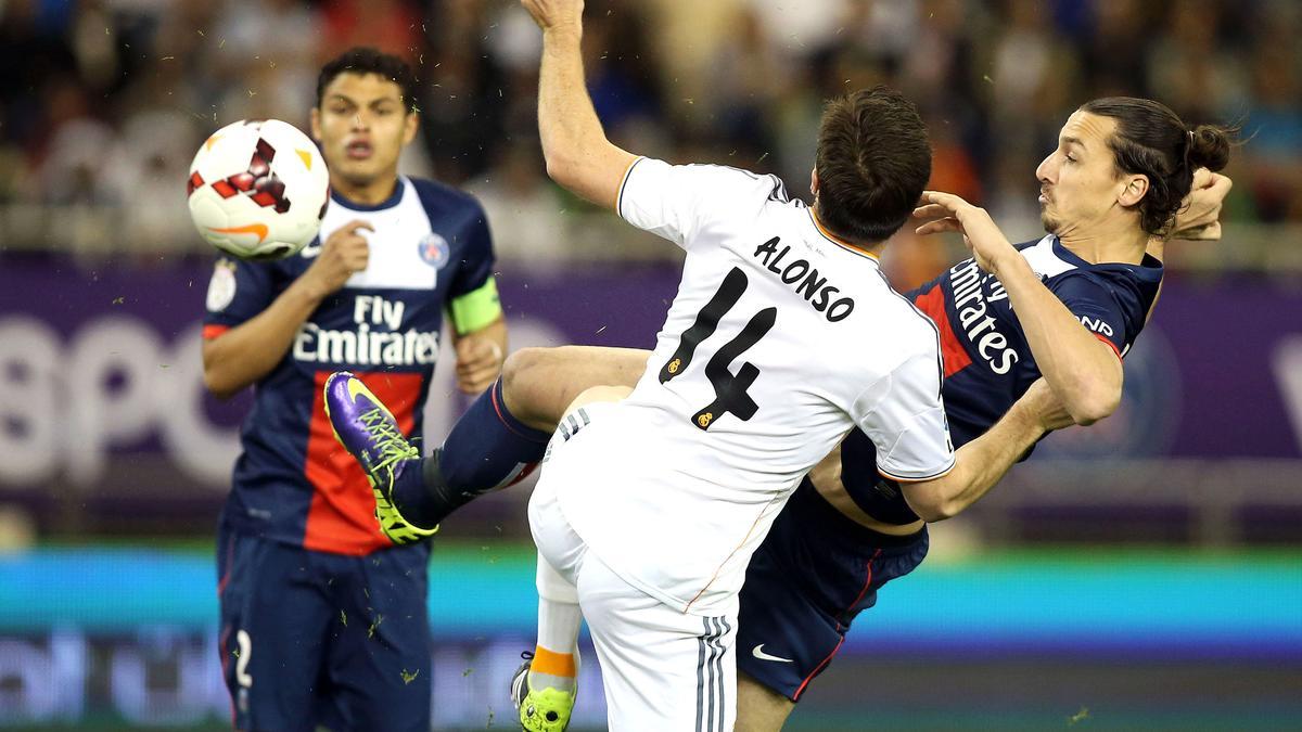 Thiago Silva & Zlatan Ibrahimovic, PSG