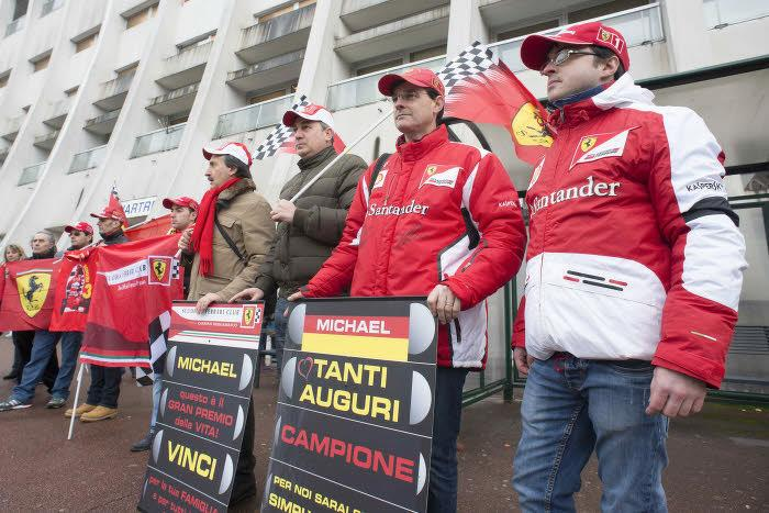 Supporters de Michael Schumacher