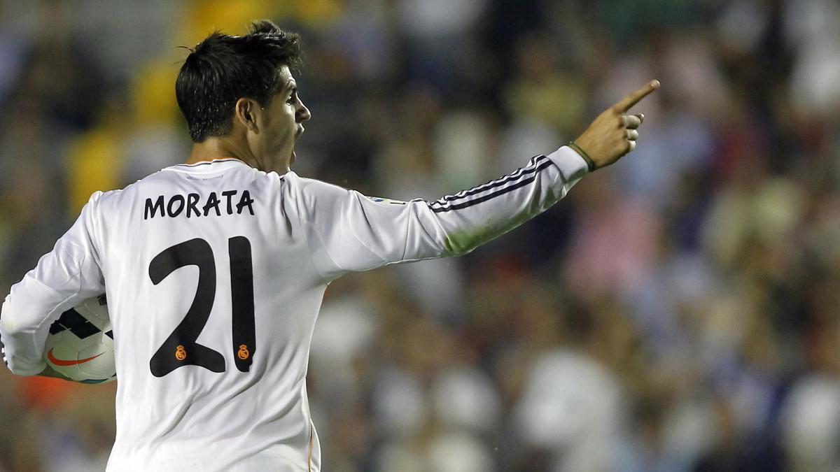 Alvaro Morata, Real Madrid