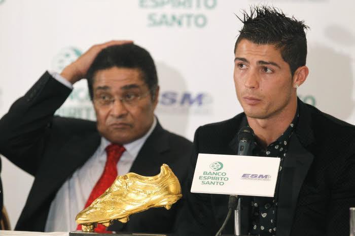 Eusebio et Cristiano Ronaldo