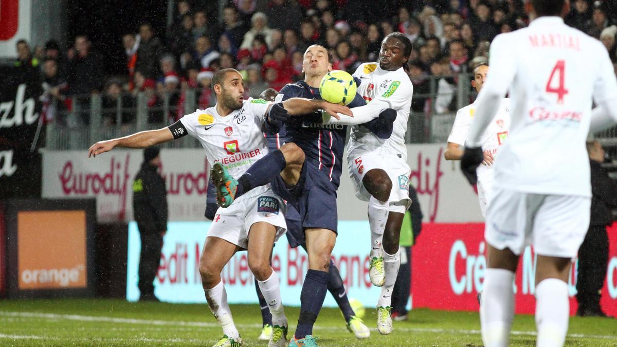 Zlatan Ibrahimovic & Bernard Mendy