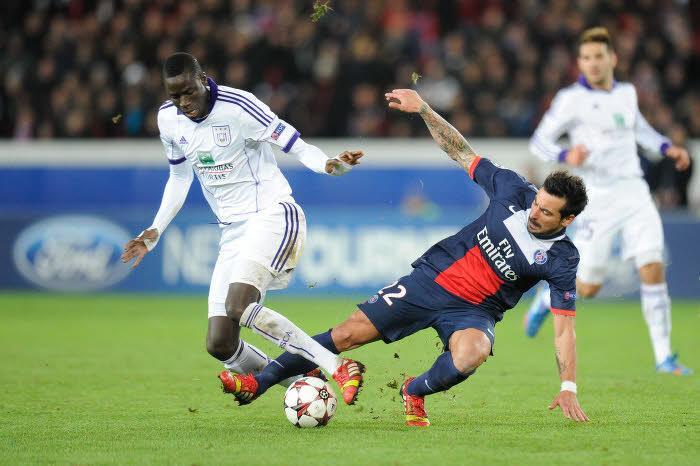 Cheikhou Kouyaté, Anderlecht
