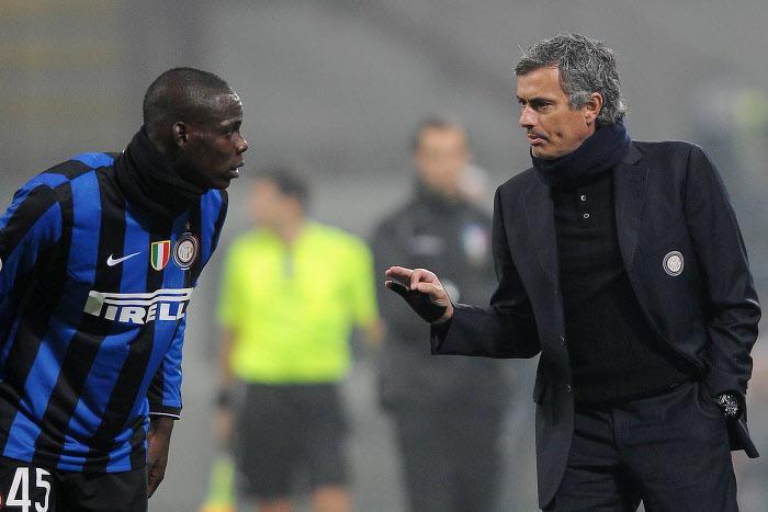 Balotelli, Mourinho