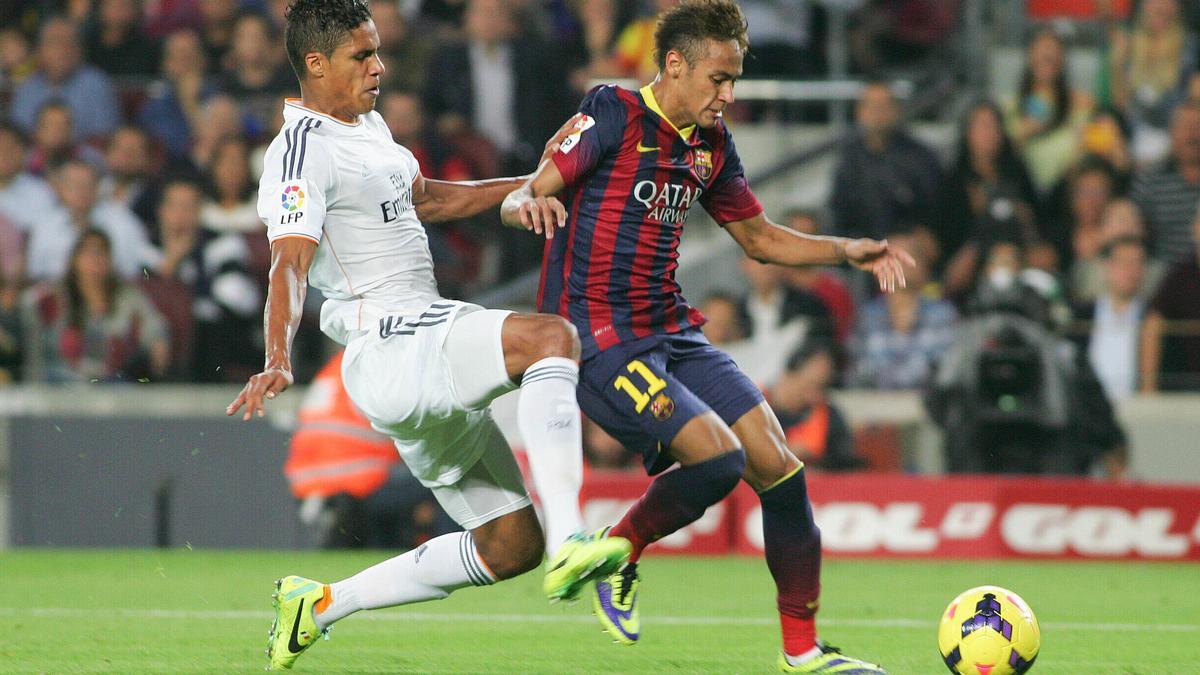 Varane - Neymar