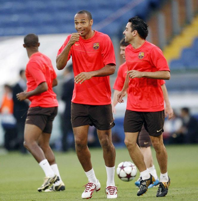 Thierry Henry, Xavi