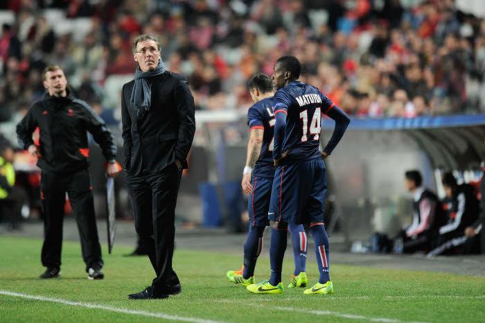 Laurent Blanc & Blaise Matuidi, PSG