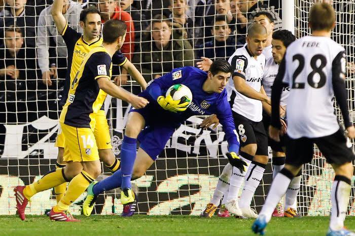 Thibaut Courtois, Atlético Madrid