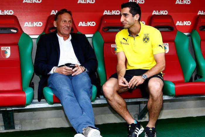 Joachim Watzke & Henrikh Mkhitaryan, Borussia Dortmund