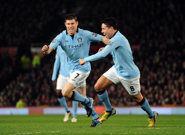 James Milner & Samir Nasri