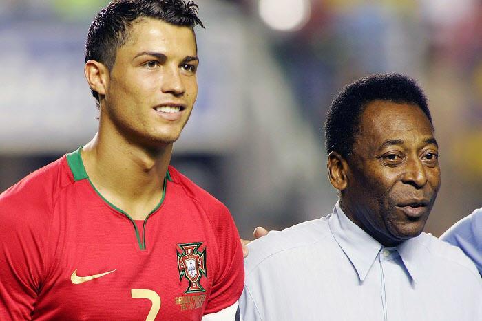 Cristiano Ronaldo & Pelé