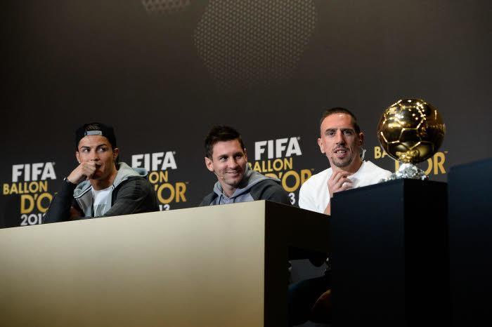 Cérémonie Ballon d'Or 2013