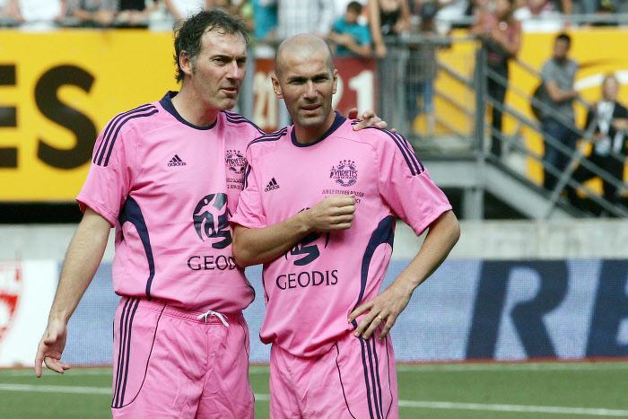 Laurent Blanc - Zinedine Zidane