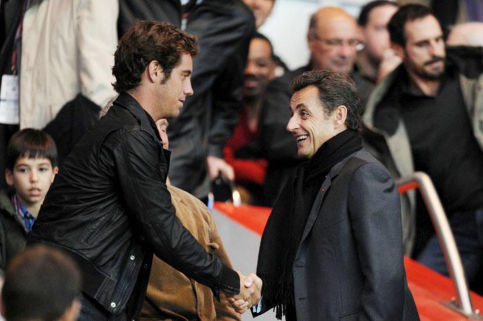Richard Gasquet , Nicolas Sarkozy