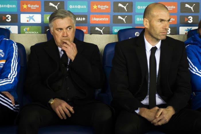 Carlo Ancelotti, Zinedine Zidane, Real Madrid