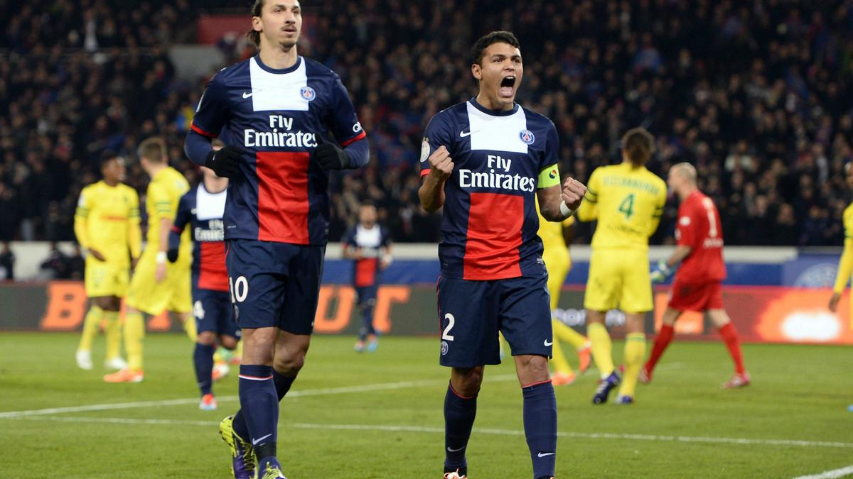 Zlatan Ibrahimovic - Thiago Silva