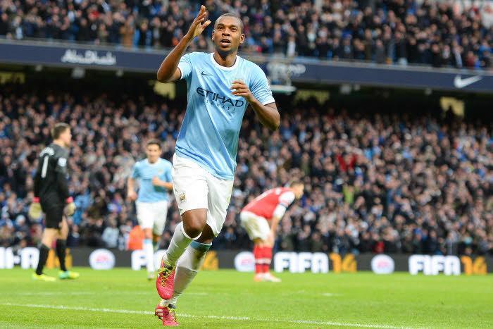 Fernandinho, Manchester City
