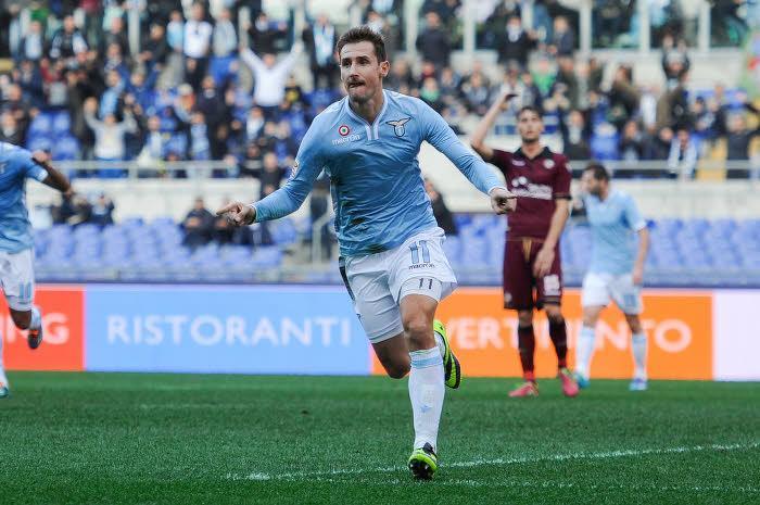 Miroslav Klose, Lazio Rome