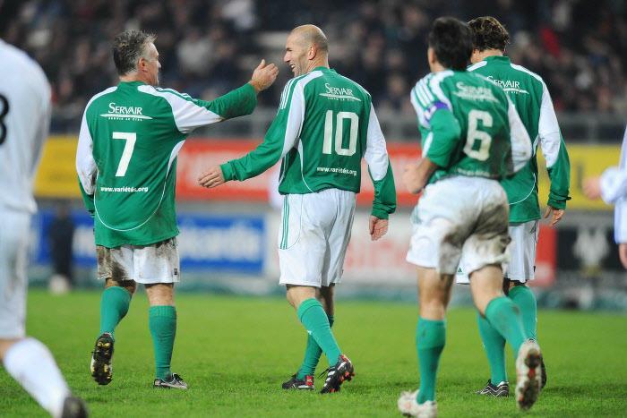 Zidane, Deschamps