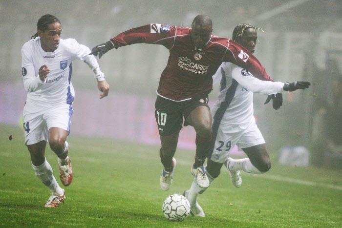 Ibrahima Bakayoko, sous les couleurs de Livourne en 2006