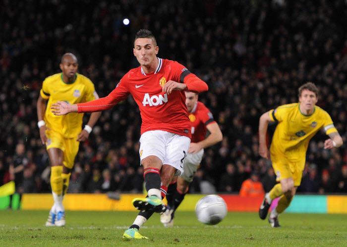 Federico Macheda, Manchester United