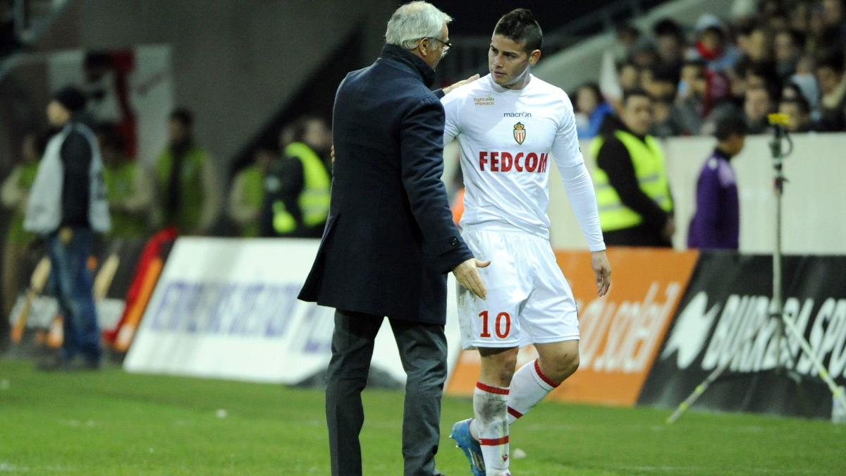 Claudio Ranieri & James Rodriguez, AS Monaco