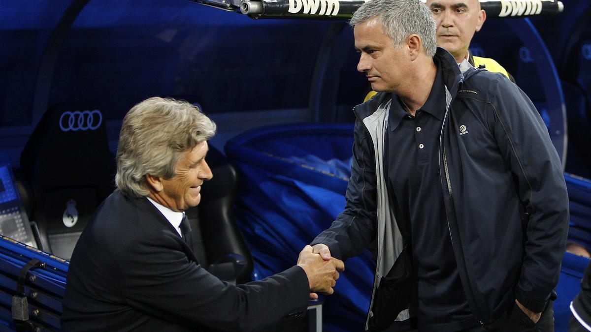 Manuel Pellegrini & José Mourinho