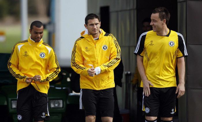 Ashley Cole, Frank Lampard, John Terry