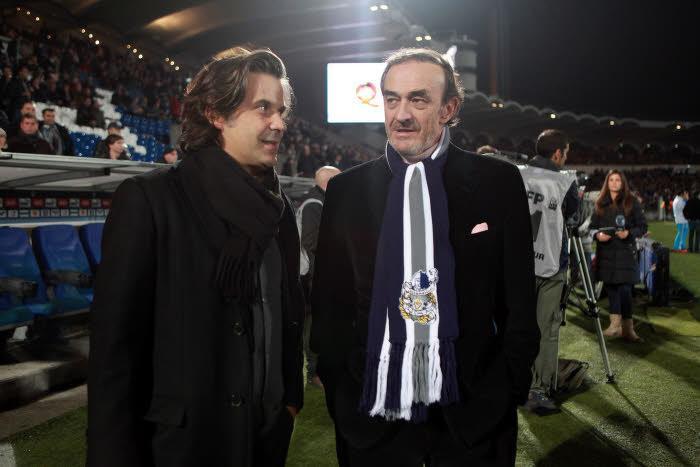 Jean-Louis Triaud et Vincent Labrune