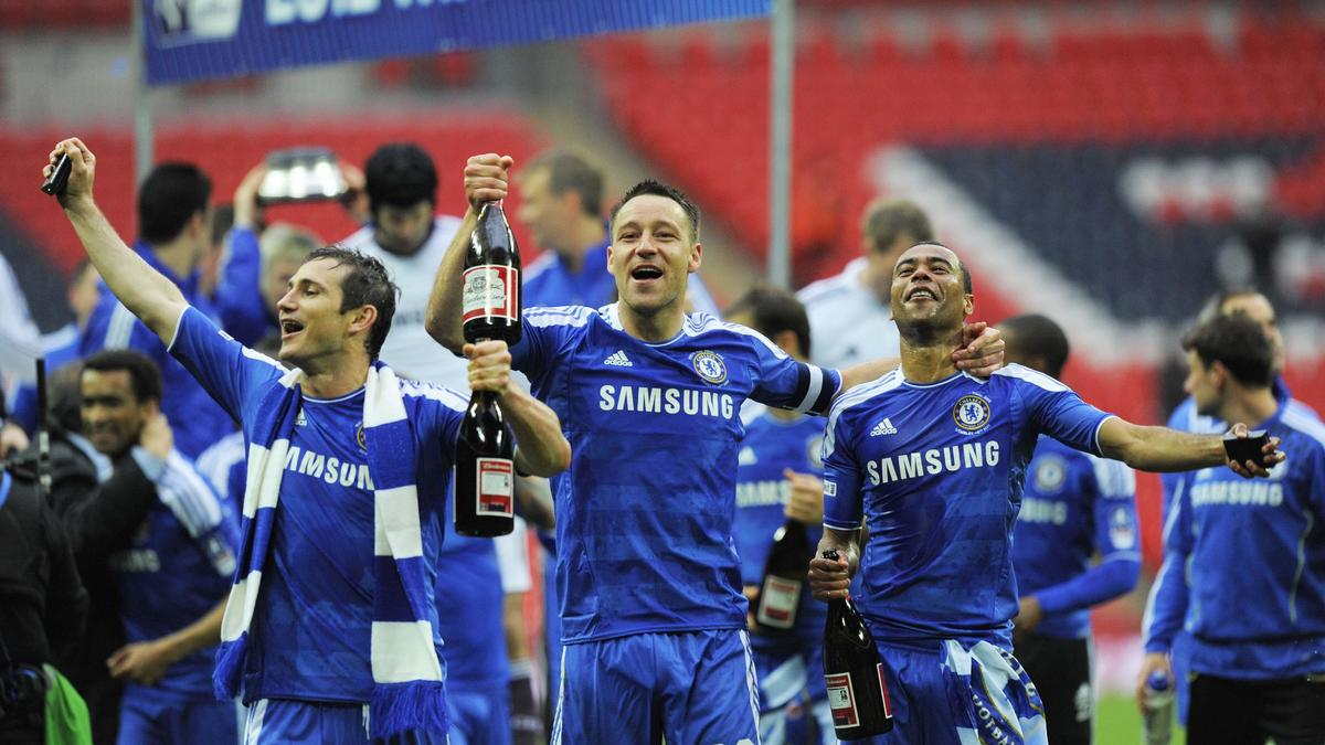 Frank Lampard, John Terry & Ashley Cole, Chelsea