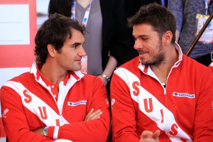 Roger Federer et Stanislas Wawrinka, Suisse