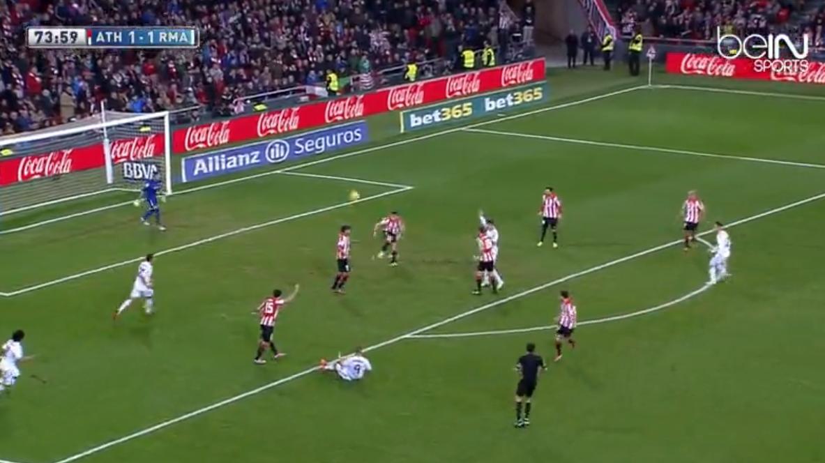 Real Madrid : Bagarre entre Crisriano Ronaldo et des joueurs de l'Athletic Bilbao (vidéo)