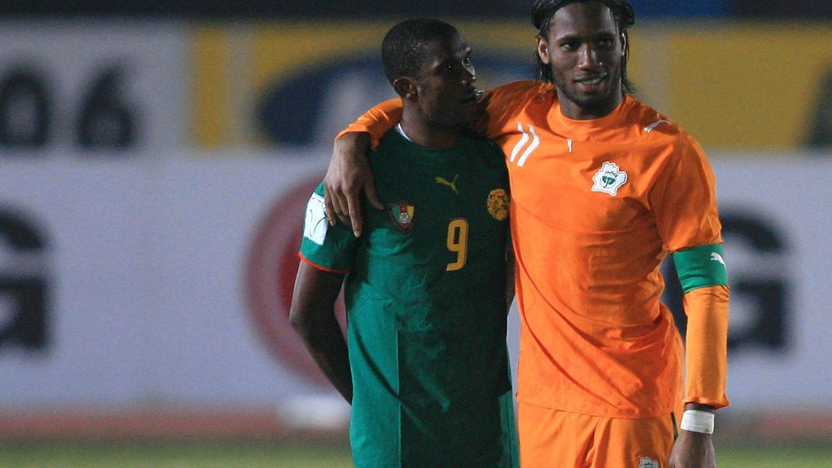 Samuel Eto'o & Didier Drogba
