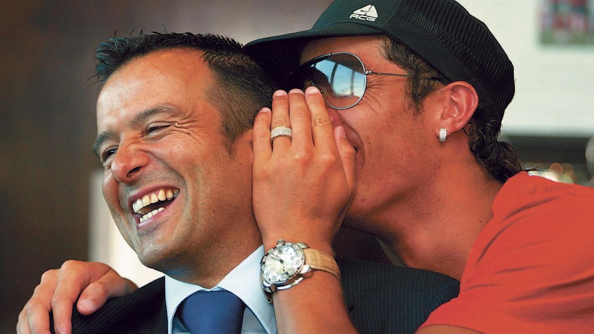 Jorge Mendes & Cristiano Ronaldo