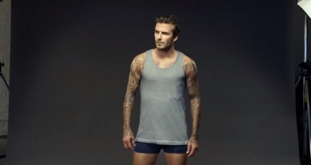 La nouvelle publicité de David Beckham (vidéo)