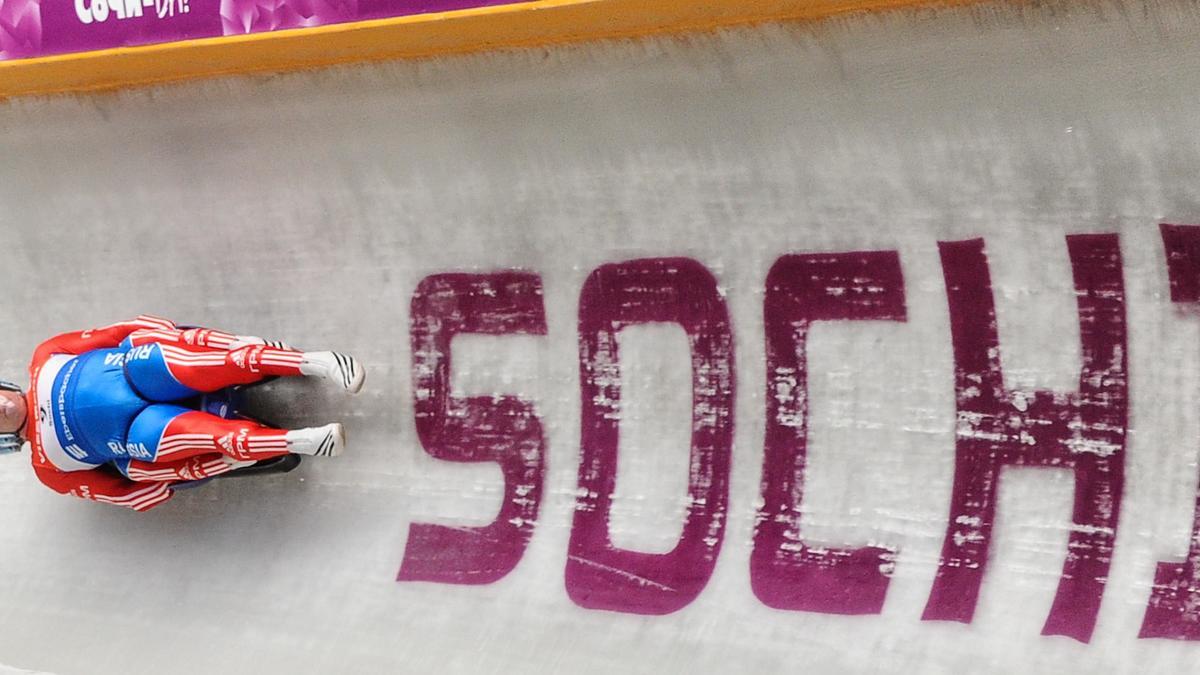 Piste de bobsleigh
