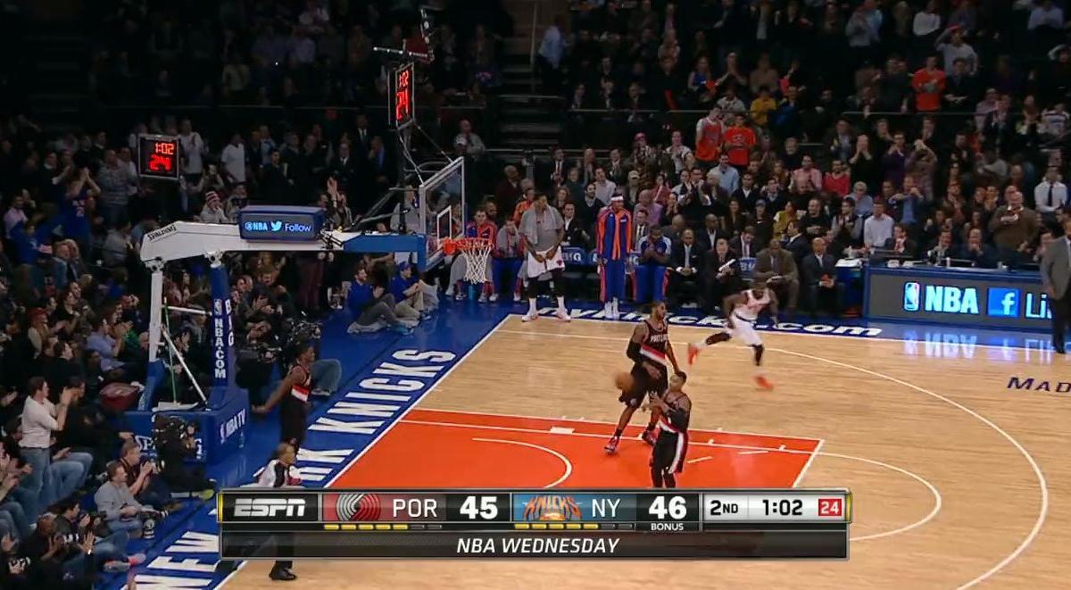 Basket - NBA : Tim Hardaway Jr a inscrit le plus beau dunk de la nuit dernière (vidéo)